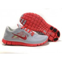 新着 Nike Free Run 3 Mens Gray Peachblow Shoes