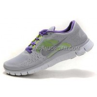 新着 Nike Free Run 3 Mens Wolf Grey Reflective Silver Shoes