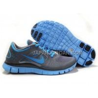 本物の Nike Free Run 3 Womens Carbon Gray Jade Shoes