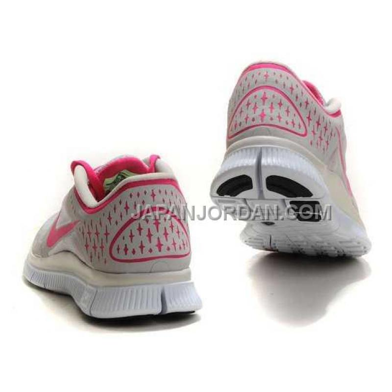 Nike free run 3 womens grey pink