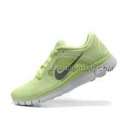 ホット販売 Nike Free Run 3 Womens Liquid Lime Reflective Silver Shoes