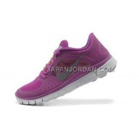ホット販売 Nike Free Run 3 Womens Magenta Reflective Silver Shoes