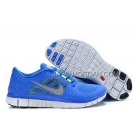ホット販売 Nike Free Run 3 Womens RoyalBlue White Shoes
