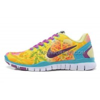 ホット販売 Nike Free TR Fit 2 Womens Lemon Yellow Jade Purple Red Shoes