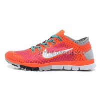 ホット販売 Nike Free TR Fit Lovers Red Purple Orange White Light Gray Shoes