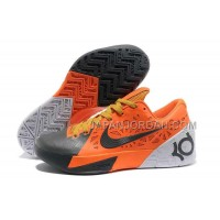 格安特別 Nike KD Trey 5 Mens Orange Gray