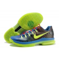 Nike KD V Elite Mens Black Blue Green 本物の
