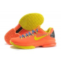 Nike KD V Elite Mens Orange Yellow 本物の