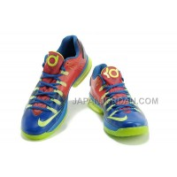Nike KD V Elite Mens Red Blue Green 本物の