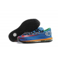 Nike KD Vi Elite Series Mens Blue Red Green 本物の