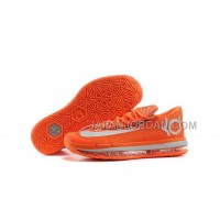 Nike KD Vi Elite Series Mens Orange Silver 本物の