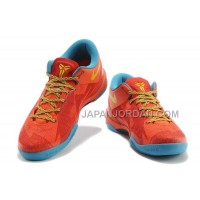 Nike Kobe 8 Year Of The Horse Mens Orange Sky Blue 送料無料