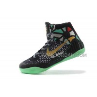 Nike Kobe Ix Elite Gs Mens Black Green 本物の