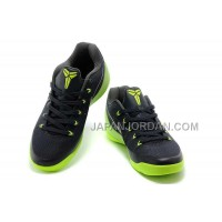 Nike Kobe Ix Em Low Mens Black Fluorescence Green 本物の