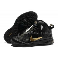 Nike Lebron 9 P.S. Elite Mens Black Gold 送料無料