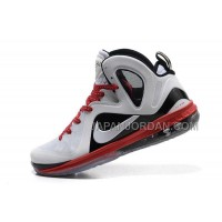Nike Lebron 9 P.S. Elite Mens White Black Red 送料無料