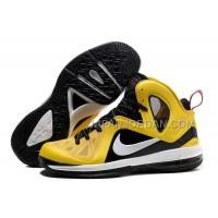 Nike Lebron 9 P.S. Elite Mens Yellow Black 送料無料