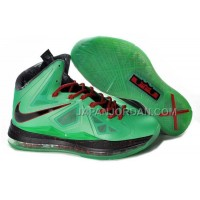 Nike Lebron X China Exclusive Cutting Jade Mens Green Black 送料無料