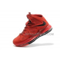 Nike Lebron X Ext Suede Mens Red 送料無料