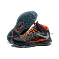 Nike Lebron X Mens Black Orange 送料無料