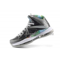 Nike Lebron X Mens Colorful Silver Black 送料無料
