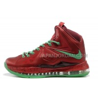 Nike Lebron X Mens Red Green 送料無料