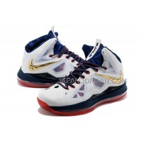 Nike Lebron X Mens White Navy Blue Red 送料無料