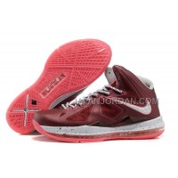 Nike Lebron X Mens Wine Red Pink 送料無料