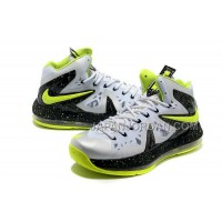 Nike Lebron X Ps Elite Mens White Black Fluorescence Green オンライン
