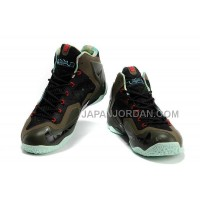 Nike Lebron Xi Mens Army Green Black オンライン
