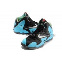 Nike Lebron Xi Mens Black Blue オンライン