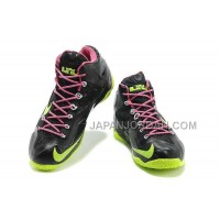 Nike Lebron Xi Mens Black Green Pink 送料無料