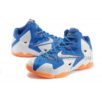 Nike Lebron Xi Mens Blue White Orange オンライン