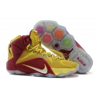 Nike Lebron Xii P.S. Elite Mens Burgundy Gold 送料無料