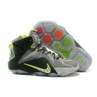 Nike Lebron Xii P.S. Elite Mens Gray Green 送料無料