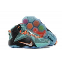 Nike Lebron Xii P.S. Elite Mens Turquoise Black Orange 送料無料