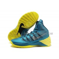 Nike Lunar Hyperdunk 2013 Xdr Mens Lake Blue Yellow ホット販売