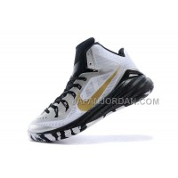 Nike Lunar Hyperdunk 2014 Mens White Black Gold ホット販売