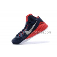 Nike Lunar Hyperdunk 2014 Xdr Breathable Mens Navy Red ホット販売