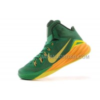 Nike Lunar Hyperdunk 2014 Xdr Mens Green Yellow ホット販売