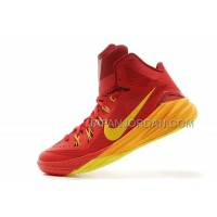 Nike Lunar Hyperdunk 2014 Xdr Mens Red Yellow ホット販売