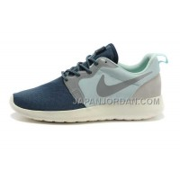 Nike Roshe HYP QS Mens Blue Navy Shoes オンライン