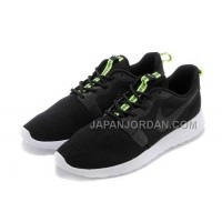 ホット販売 Nike Roshe Run 3M Glow Hyperfuse Mens Black Shoes