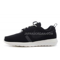 Nike Roshe Run Anti Fur Mens 3M Reflective Black White Shoes オンライン