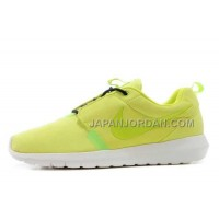 Nike Roshe Run Anti Fur Mens 3M Reflective Fluorescent Yellow White Shoes オンライン