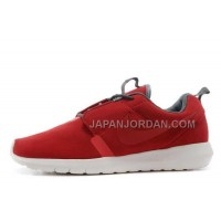 Nike Roshe Run Anti Fur Mens 3M Reflective Red White Shoes オンライン