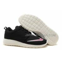 Nike Roshe Run FB Yeezy Womens Black Shoes ホット販売
