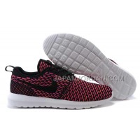 ホット販売 Nike Roshe Run Flyknit Mens Fireberry Shoes