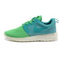 Nike Roshe Run HYP QS Mens Lime Turquoise Shoes オンライン