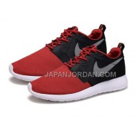 Nike Roshe Run Hyperfuse QS Womens Red Dark Black Shoes 格安特別
